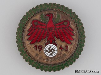 Shooting Award 1943