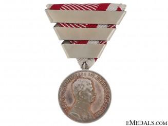 Silver Bravery Medal 1st. Class – Emperor Karl