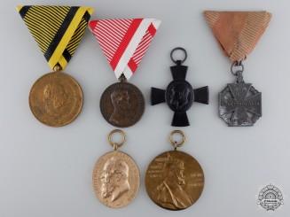 Six First War European Medals