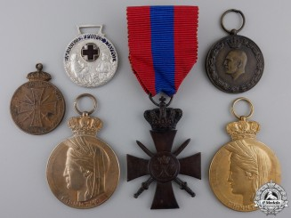 Six Greek Medals & Awards