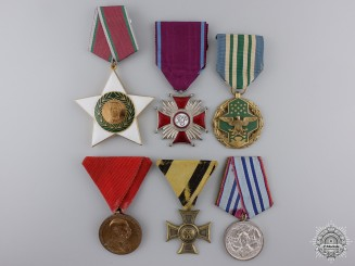 Six International Medals and Awards