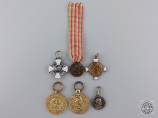 Italy, Kingdom. A Lot of Miniature Medals & Awards