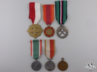 Six Polish Orders, Medals, and Awards