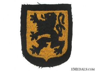 Sleeve Shield of the Waffen-SS Legion Langemarck