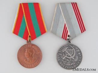 Soviet Union Labour Medal Pair
