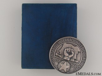Spanish Civil War Commemorative Medal 1936-66