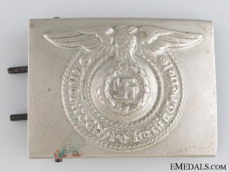 "SS EM/NCO'S ""Fat Eagle"" Belt Buckle"