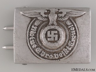 "SS EM/NCO'S Buckle by ""RZM 822/38 SS"""