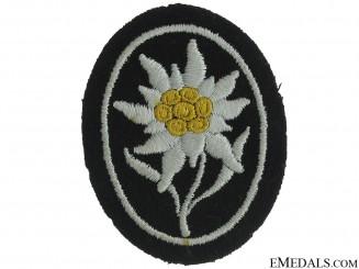 SS-Gebirgstruppen Sleeve Edelweiss