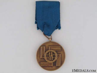 SS Long Service Award; Third Class