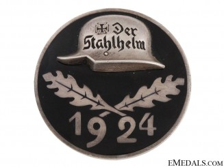 Stahlhelm Membership Badge 1924 – Silver
