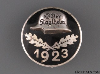 Stahlhelm Membership Badge 1923