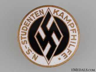 "Students Federation ""Kampfhilfe"" Aid Badge"