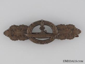 Submarine Clasp; Bronze Grade marked Schwerin