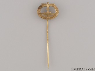 Submarine War Badge Stickpin