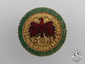 A 1941 Tirol Shooting Association at Vorarlberg Badge