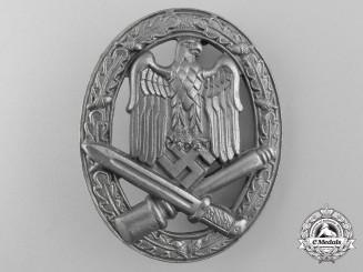 A General Assault Badge By Ferdinand Wiedmann