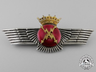 A Spanish Franco Period Air Force Radio Operator's Wing