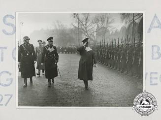 An Official Press Photograph of Reichsmarschall Hermann Göring