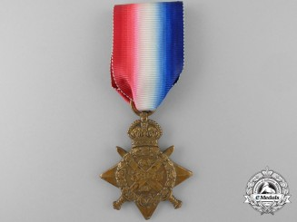 A 1914 Star to the 2nd Battalion; Royal Scots Fusiliers