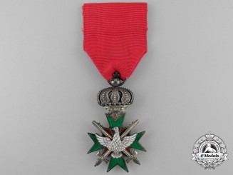 A Saxe-Weimar Order of the White Falcon; 2nd Class with Swords