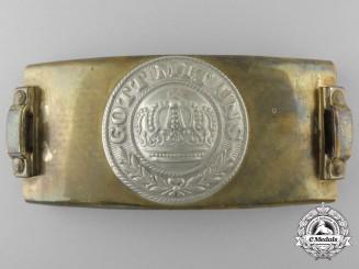 A German Imperial Army (Heer) Telegrapher's Belt Buckle