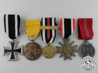 Five Second War German Awards & Decorations