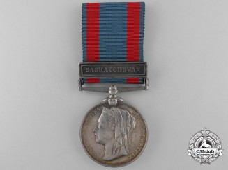 A North West Canada Medal with Saskatchewan Clasp to the Winnipeg Field Battery