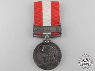 United Kingdom. A Canada General Service Medal to the 42nd Battalion