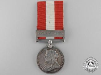 A Canada General Service Medal to the 3rd Regiment Nova Scotia Militia