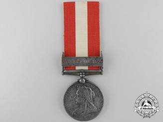 United Kingdom. A Canada General Service Medal to the Sault Ste. Marie Infantry Company