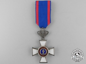 An Order of Peter Friedrich Ludwig of Oldenburg; Knight's Cross Second Class