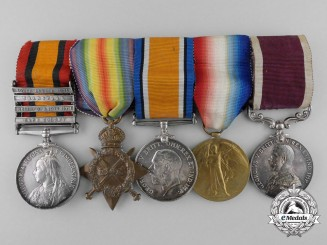 A Long Service Medal Grouping to Company Sergeant Major William J. Steele
