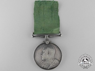 A  Colonial Auxiliary Forces Long Service Medal to the 56th Regiment