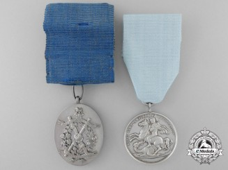 Two British Army Temperance Medals