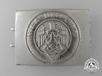 An HJ Belt Buckle by Overhoff & Cie, Ludenscheid