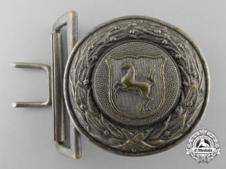 A Westfalen Fire Defence Service Officer's Belt Buckle
