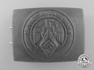 An HJ Belt Buckle by Christian Theodor Dicke
