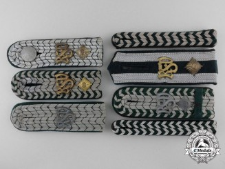 Seven Customs  (National Fiscal Administration) Rank Shoulder Boards