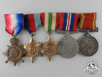 A First & Second War South African Family Medal Group