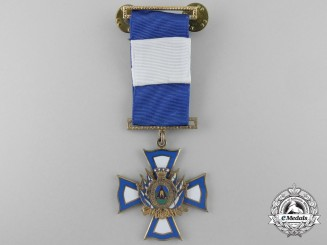 A Honduras Armed Forces Cross of Merit by N.S.Meyer, New York