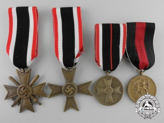 Four Second War Period German Medals & Awards