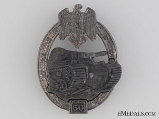 "Tank Badge ""50"""