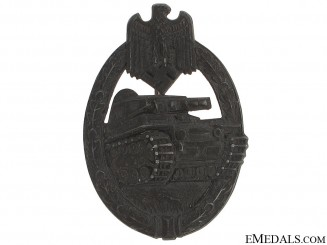 Tank Badge – Silver Grade, H. Aurich