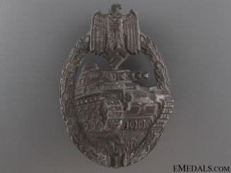 Tank Badge - Silver Grade by Karl Wurster K.G.