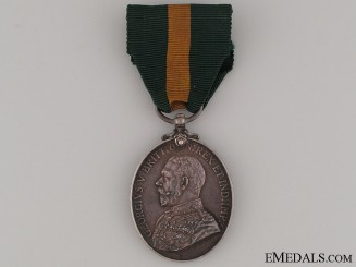 Territorial Efficiency Medal - Sgt. Mjr. Crease