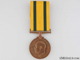 Territorial Force War Medal 1914-1919