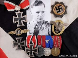 The Awards of Hansgeorg Bätcher; Leading Luftwaffe Bomber Ace
