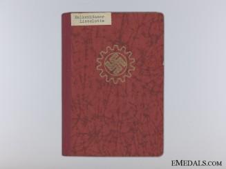 The DAF Work Books of Lieselotte Halkenhäuser
