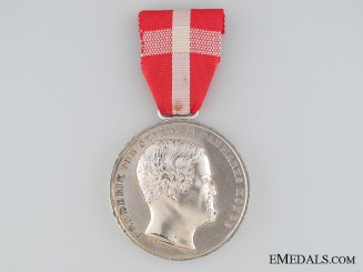 The Danish Medal for Noble Deeds, , SPECIMEN